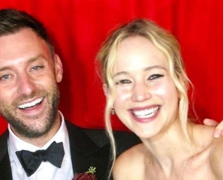 Jennifer Lawrence weds art gallery director Cooke Maroney