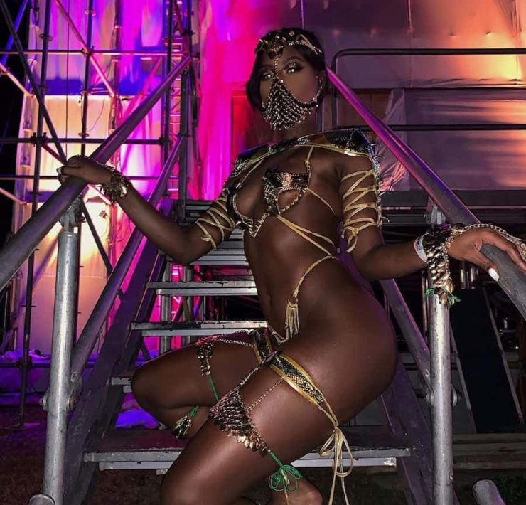 Abihail Myrie Dons Game of Thrones-Inspired Carnival Costume for Xodus Band Launch