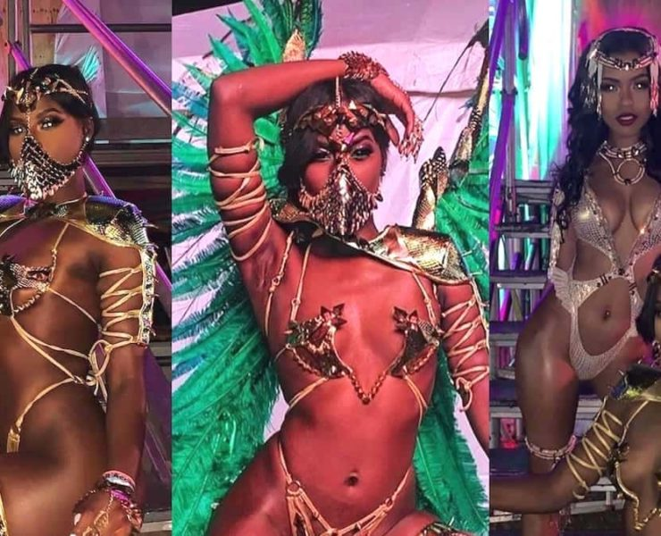 Buju Banton's Daughter Abihail Myrie Flashes Her Flawless Skin In GOT-Inspired Carnival Costume
