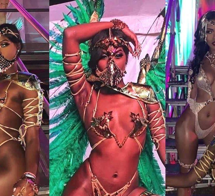 Buju Banton's Daughter Abihail Myrie Flashes Her Flawless Skin In GOT-Inspired Carnival Costume