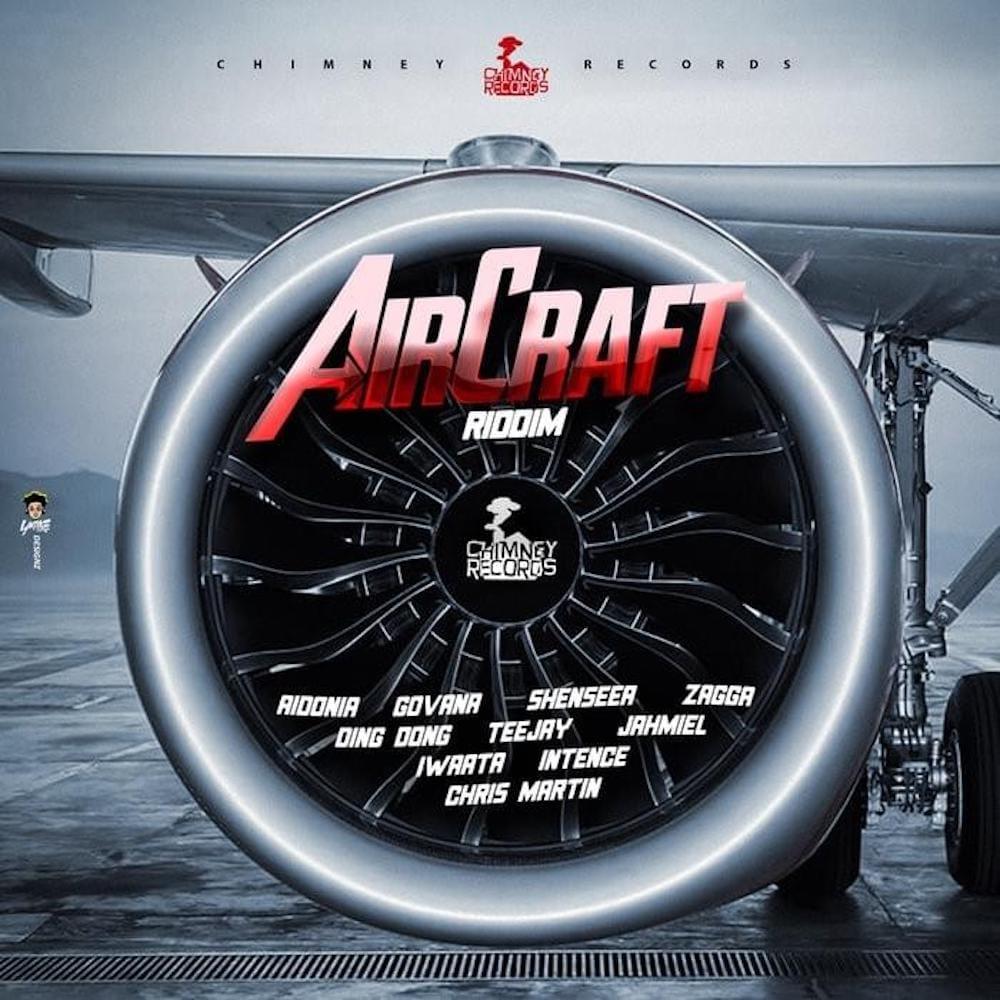 Dancehall Artist Aidonia - Aircraft Artwork