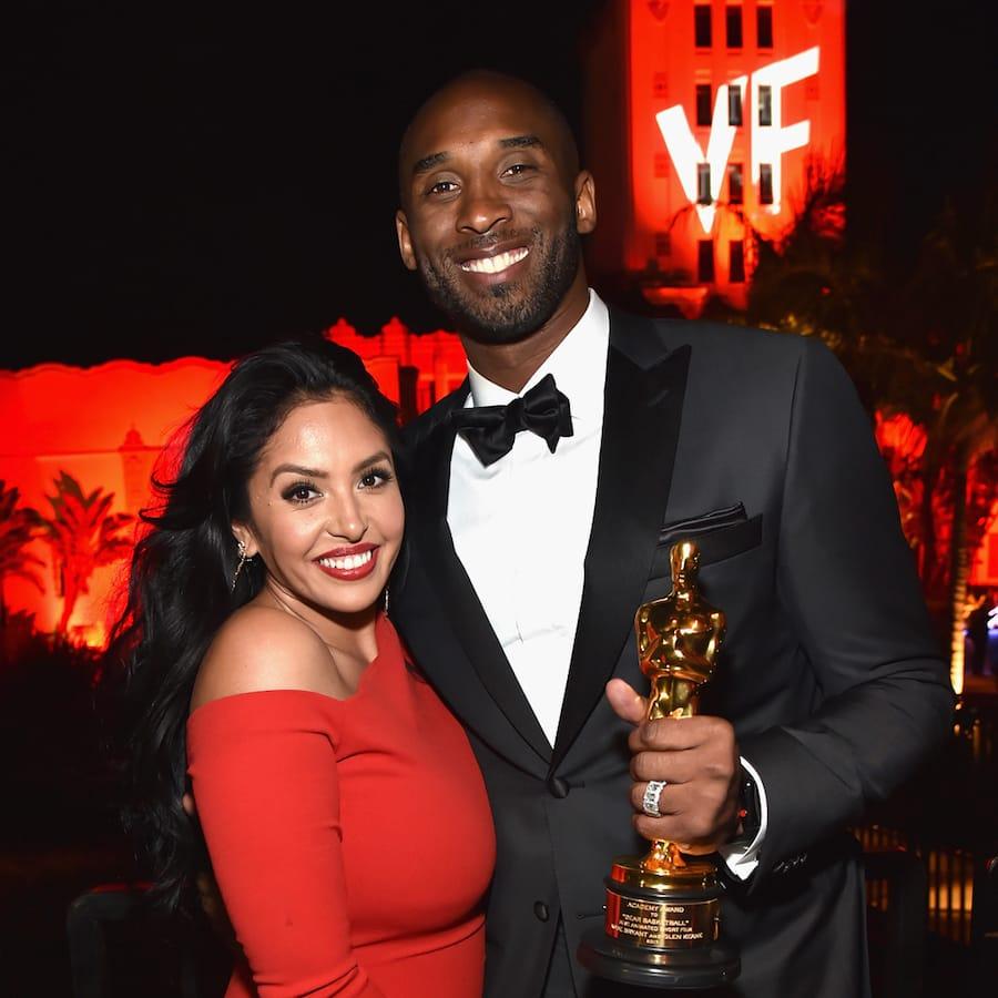Legendary NBA star Kobe Bryant and his wife Vanessa