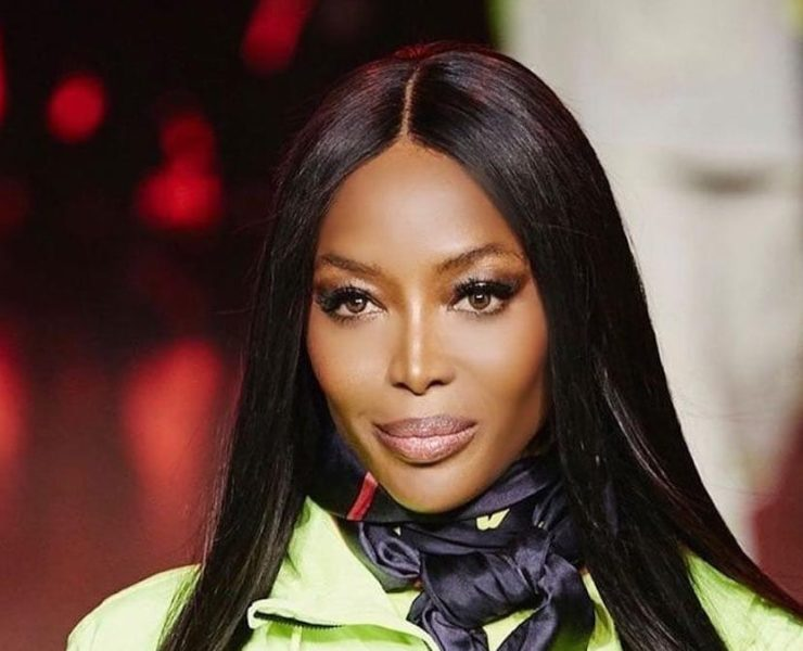 Naomi Campbell walked at Tommy Hilfiger London show