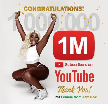 Spice Becomes First Female Dancehall Artiste To Reach One Million YouTube Subscribers