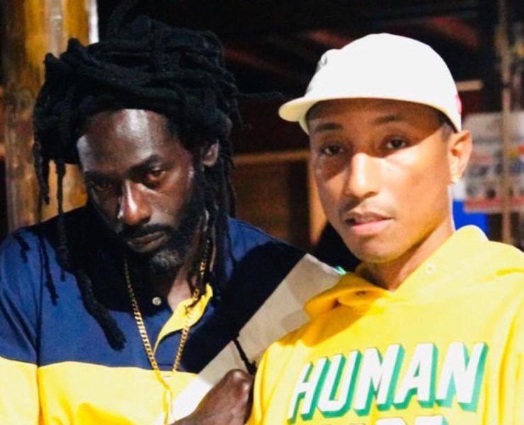 Pharrell Williams Recording New Music With Buju Banton In Jamaica