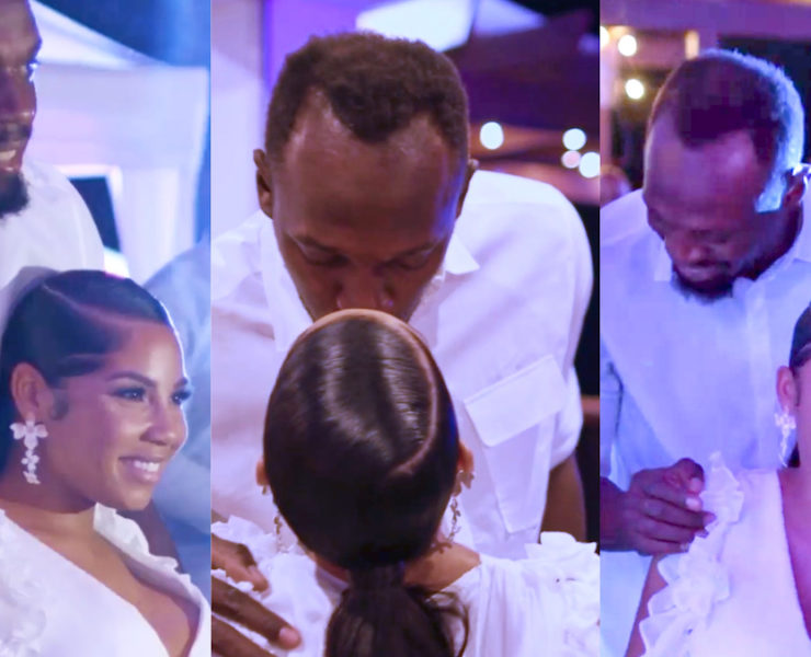 Usain Bolt And Girlfriend Kasi Bennett Expecting Baby Girl - See Photos