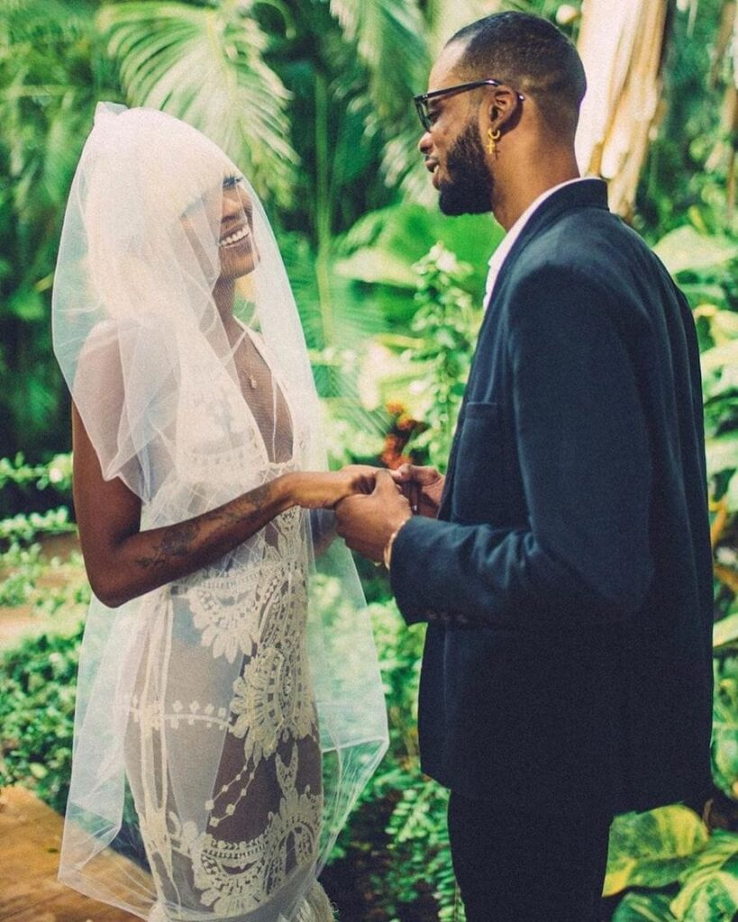 Beenie Man's Daughter Desha Ravers Marries Dancer Wiz Ravers