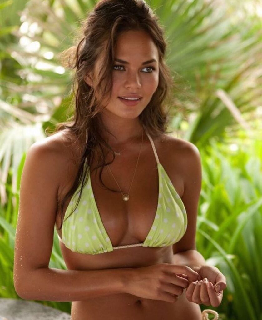 Chrissy Teigen Bikini Photo