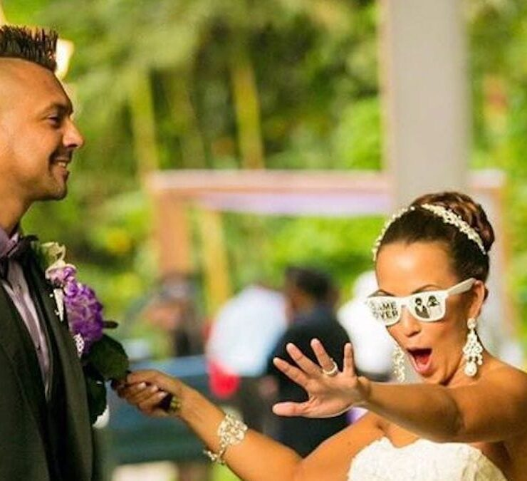 Sean Paul's Wife Jodi Henriques Shares Hilarious Wedding Photo