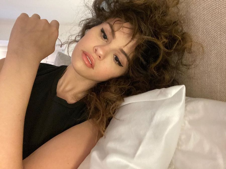 Selena Gomez Rocks Rare Beauty Makeup