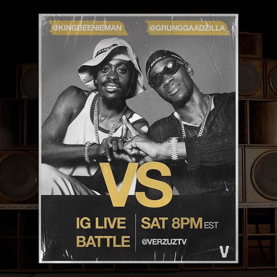 Verzuz Instagram Live Battle: Beenie Man and Bounty Killer