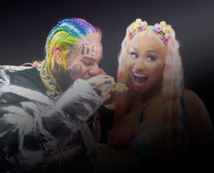 6ix9ine & Nicki Minaj - Trollz (Music Video)