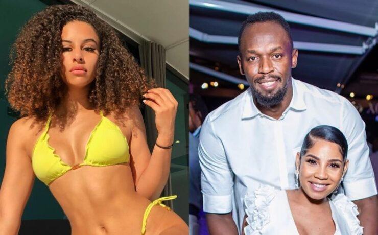 British Model Shari Halliday Says Usain Bolt Begged For Naughty Pics Days Before Sprinter Welcomed Child
