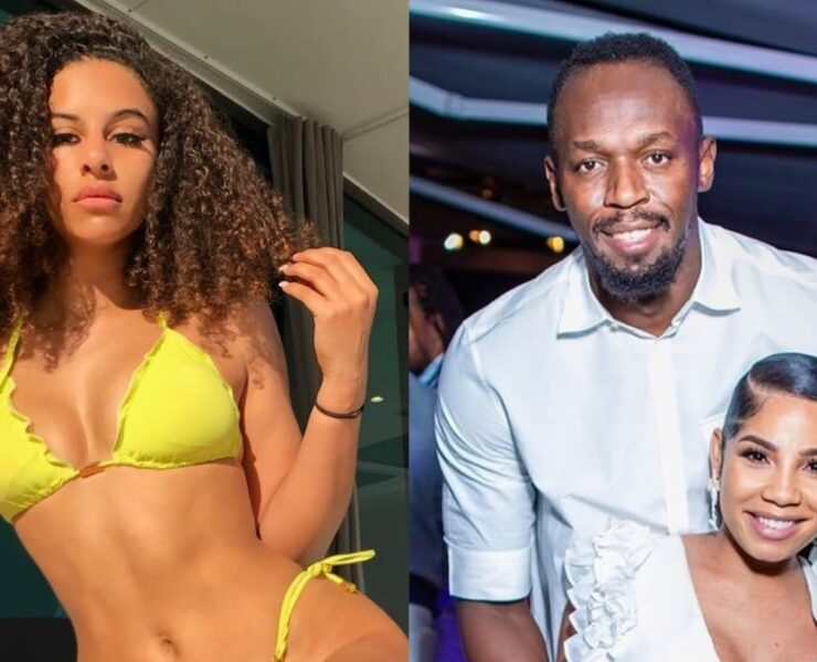 British Model Shari Halliday Says Usain Bolt Begged For Naughty Pics Days Before Sprinter Welcomed Child