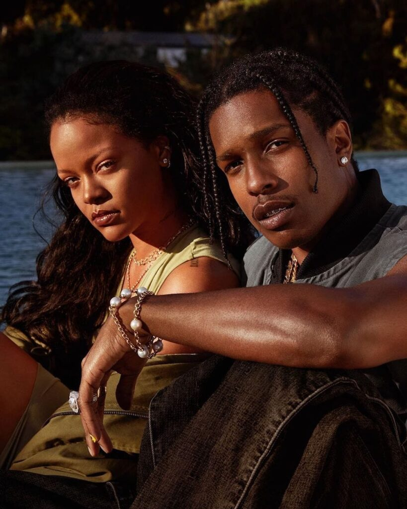 Rihanna Chills With Asap Rocky, Says Her New Skincare Line Fenty Skin Is For Women And Men