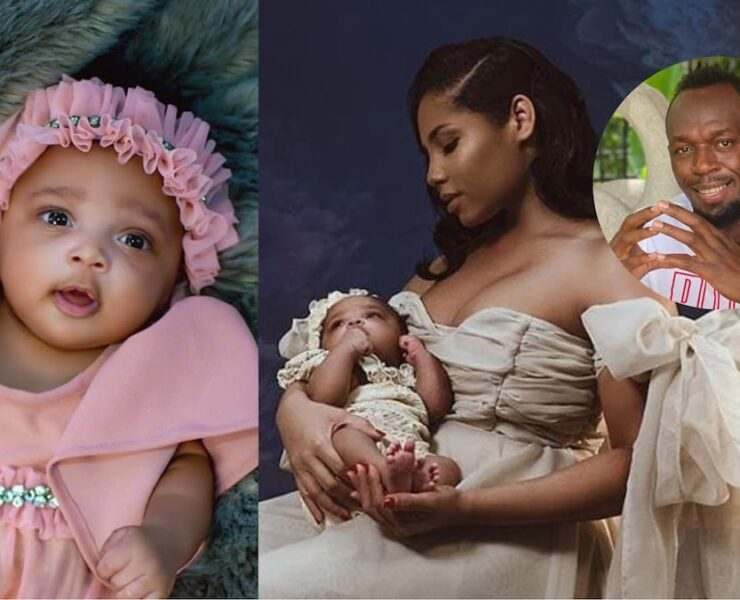 Usain Bolt's Newborn Daughter Olympia Lightning Bolt (First Photos)