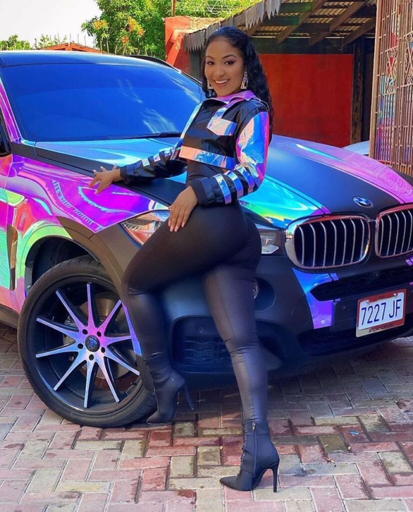 Shenssea Shows Off Her BMW X6