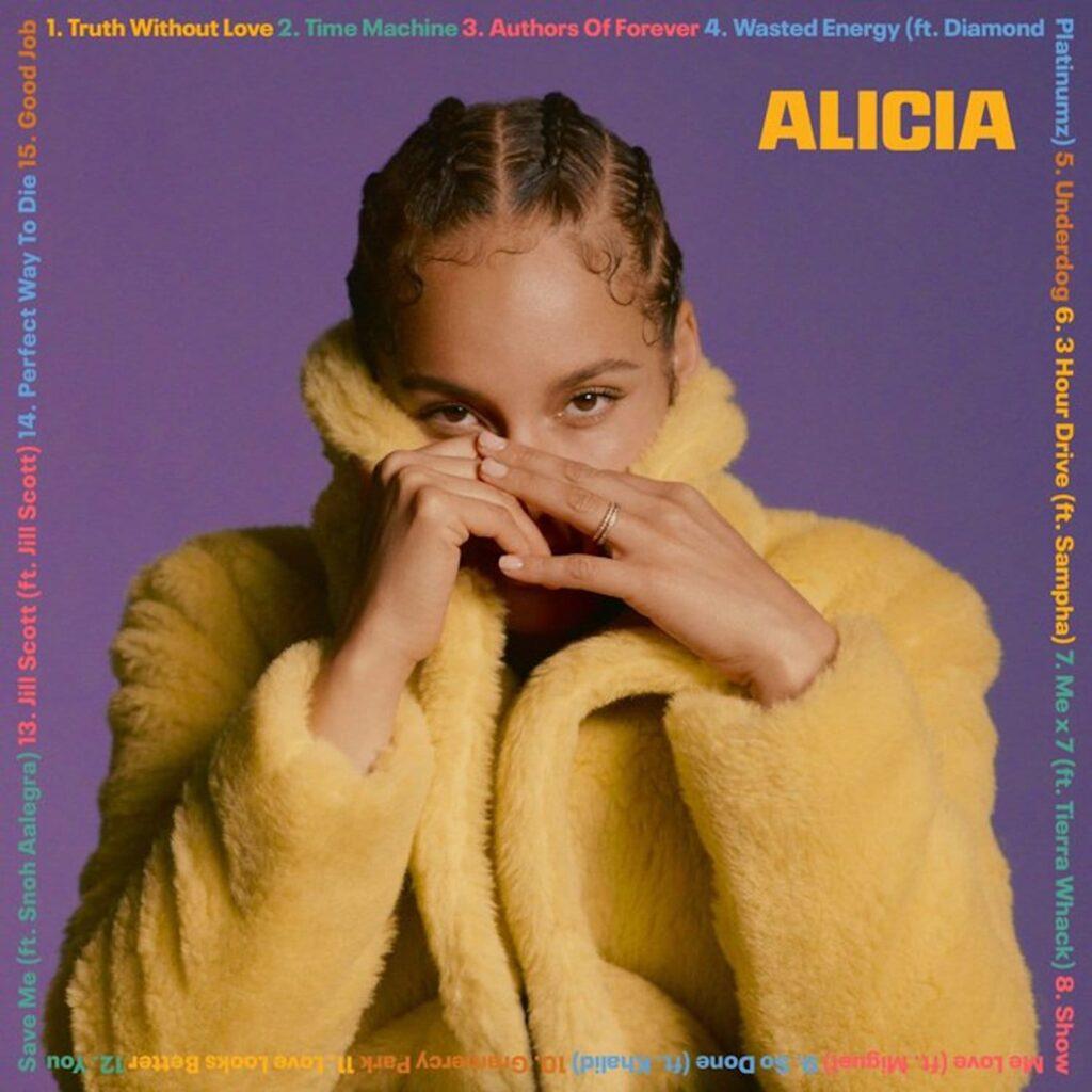 Alicia Keys' New Album 'Alicia' Artwork