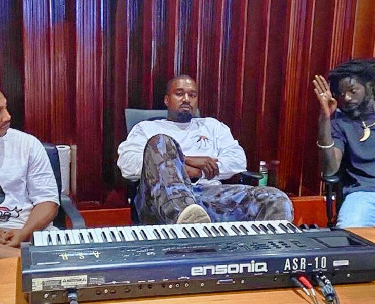 Kanye West Flew To Jamaica Amid Tweet Storm, Hit Studio With Buju Banton