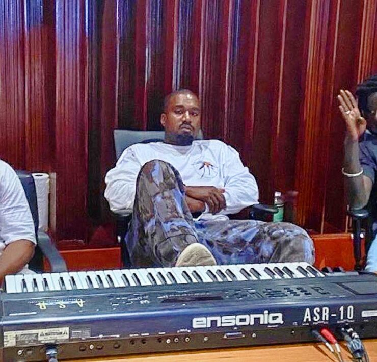 Kanye West Flew To Jamaica Amid Tweet Storm, Hit Studio With Buju Banton