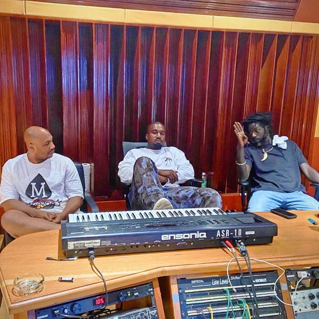 Kanye West Is In Jamaica, Links With Buju Banton In Studio