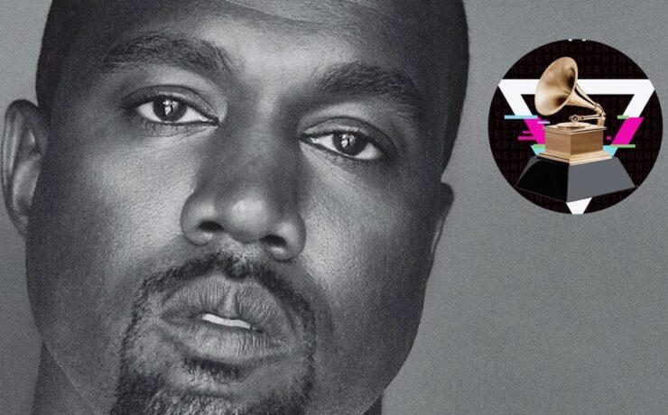 Kanye West Shares Clip Of Himself Urinating On Grammy Award Amid Fight With Music Labels