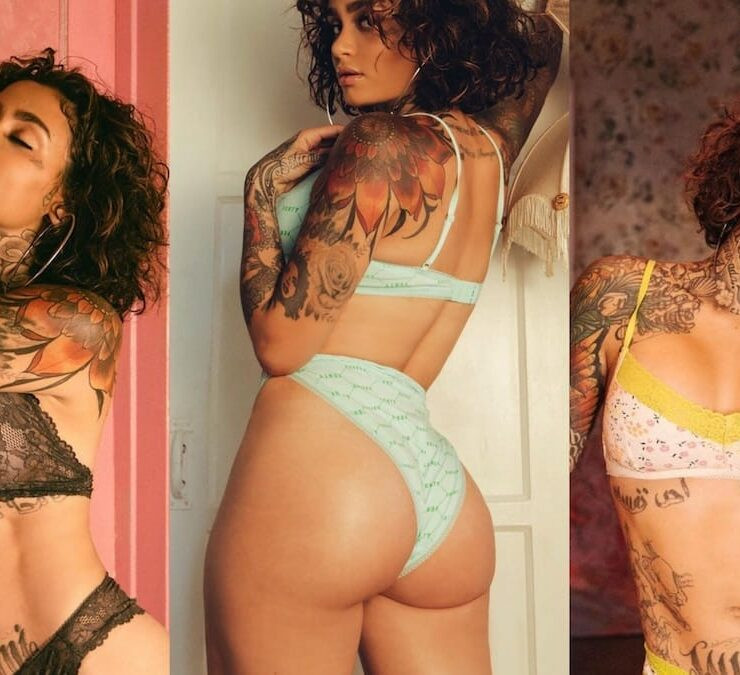 Kehlani Shows Off All Her Tattoos In Savage X Fenty Lingerie