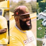 Rick Ross Shows Off His Mansion and Helicopter In New Outdoors Pictures