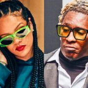 Rihanna And Young Thug Spotted At Music Video Shoot