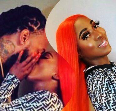Spice Shares Kiss With New Boyfriend