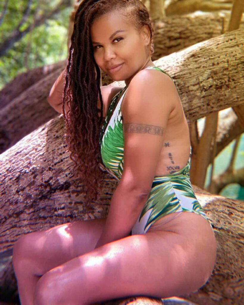 Cecile Shows Off Her Swimsuit Body At Blue Lagoon In Port Antonio, Jamaica