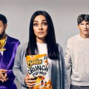 Shaggy Stars in Hilarious Cheetos Super Bowl Commercial With Ashton Kutcher and Mila Kunis